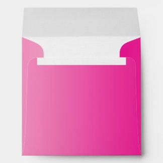 Ombre rosado sobres