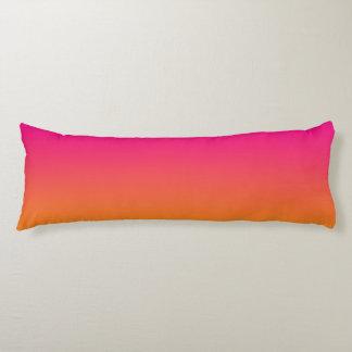 """""""Ombre rosado y anaranjado"""" Almohada"""