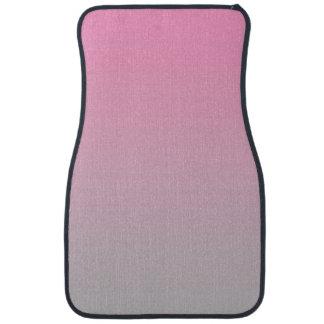 """""""Ombre rosado y gris"""" Alfombrilla De Auto"""
