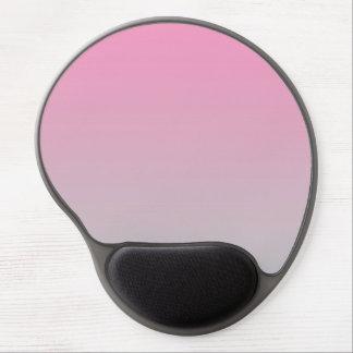 """""""Ombre rosado y gris"""" Alfombrilla Con Gel"""