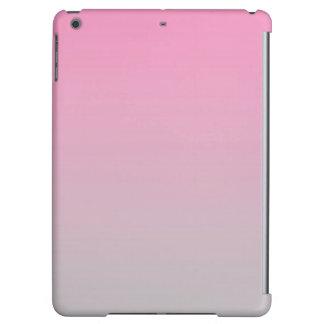 Ombre rosado y gris