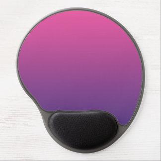 """""""Ombre rosado y púrpura"""" Alfombrilla Con Gel"""