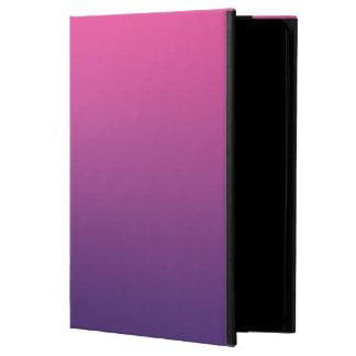 Ombre rosado y púrpura