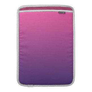 Ombre rosado y púrpura fundas macbook air
