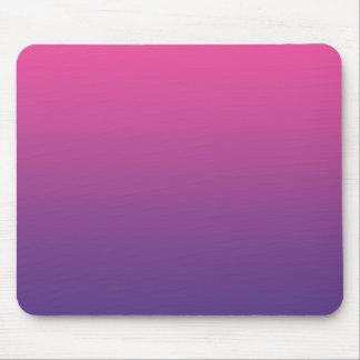 """""""Ombre rosado y púrpura"""" Alfombrilla De Ratones"""