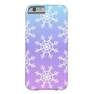 Ombré Snowflake Phone Case