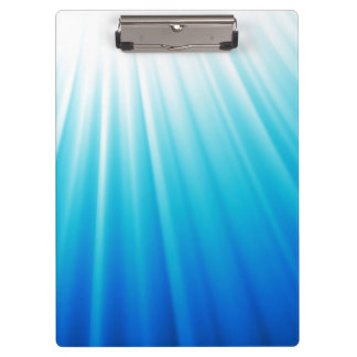 Ombre Starburst white aqua blue light beams Clipboard