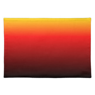 Ombre Sunset Cloth Placemat