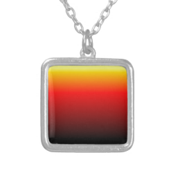 Ombre Sunset Personalized Necklace
