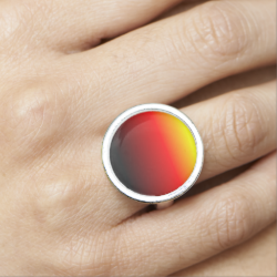 Ombre Sunset Photo Rings