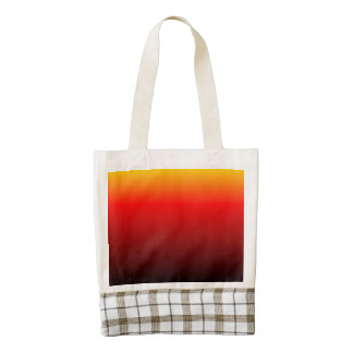 Ombre Sunset Zazzle HEART Tote Bag