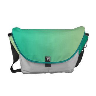 Ombre verde bolsas messenger