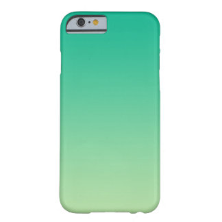 Ombre verde funda para iPhone 6 barely there