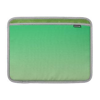 Ombre verde fundas MacBook