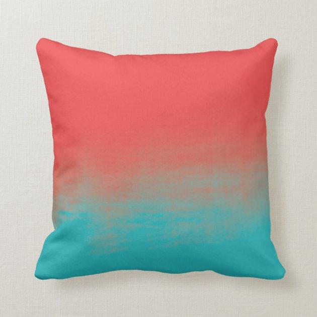 Teal PillowsDecorativeThrow PillowsZazzle