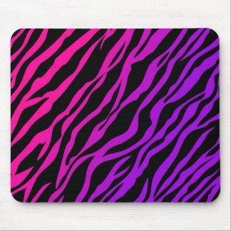 Ombre Zebra Print Mouse Pad