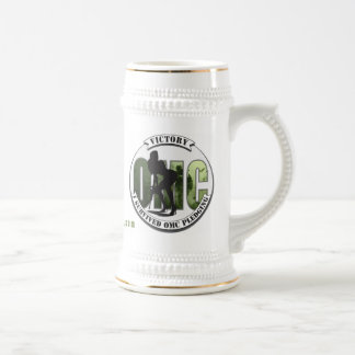 "OMC ""I survived OMC pledging"" Trophy Beer Stein"