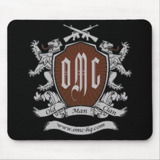 OMC T-Shirt - Back - Final Mouse Pad