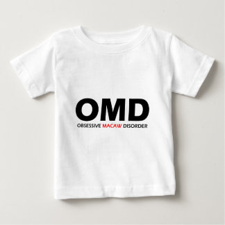 OMD - Obsessive Macaw Disorder Baby T-Shirt