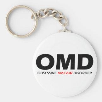 OMD - Obsessive Macaw Disorder Keychain