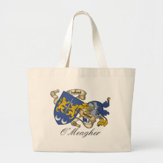 O'Meagher Family Crest Canvas Bags