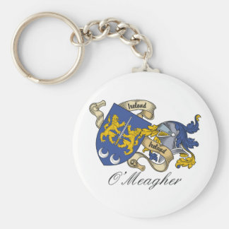 O'Meagher Family Crest Key Chains
