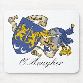 O'Meagher Family Crest Mouse Mats