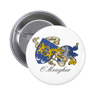 O'Meagher Family Crest Pinback Button