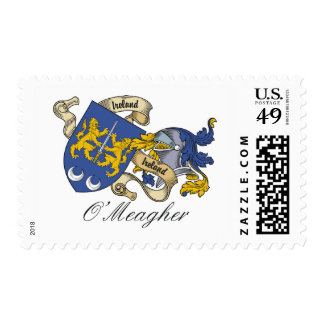 O'Meagher Family Crest Postage