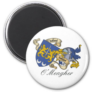 O'Meagher Family Crest Refrigerator Magnets