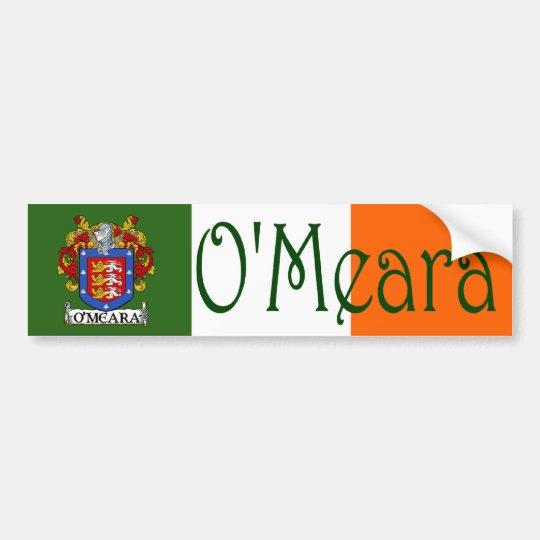O'Meara Coat of Arms Flag Bumper Sticker