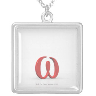 Omega 2 silver plated necklace