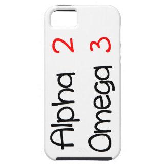Omega alpha iPhone SE/5/5s case