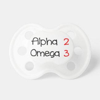 Omega alpha pacifier