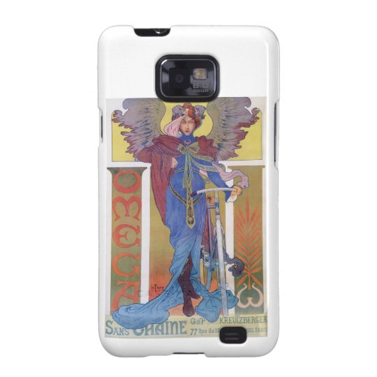 Omega Bicycle Poster Galaxy S2 Cover