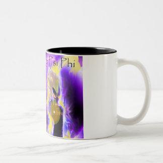 Omega Blaze Two-Tone Coffee Mug