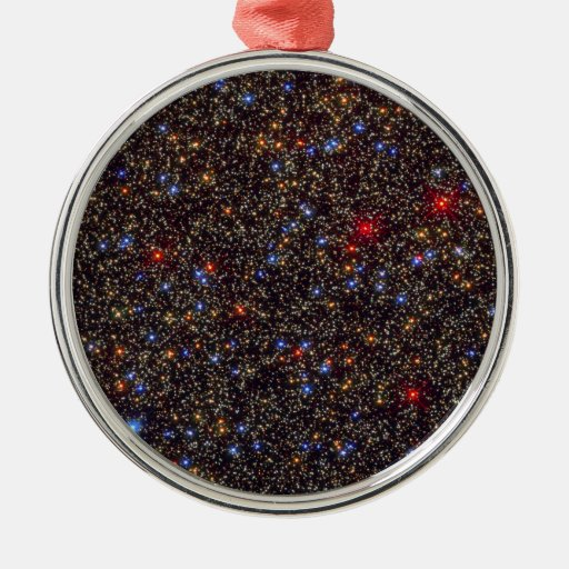 Omega Centauri Globular Star Cluster NGC 5139 Round Metal Christmas Ornament