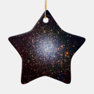 Omega Centauri Looks Radiant in Infrared Ceramic Ornament