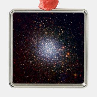 Omega Centauri Looks Radiant in Infrared Metal Ornament