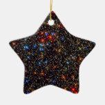 Omega Centauri Double-Sided Star Ceramic Christmas Ornament