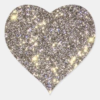 Omega Centauri - Space, Stars - STSci PRC01 33 Heart Sticker