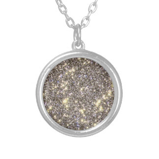 Omega Centauri - Space, Stars - STSci PRC01 33 Silver Plated Necklace