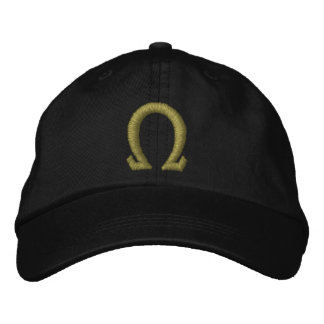 Omega Embroidered Baseball Cap