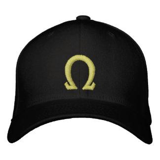omega embroidered baseball hat