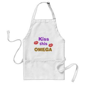 OMEGA kiss apron