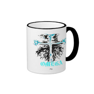 """Omega"" Coffee Mugs"