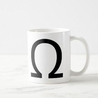 Omega Classic White Coffee Mug