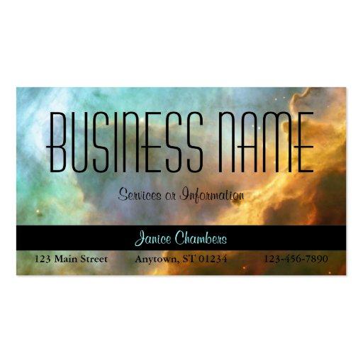 Omega Nebula Business Card