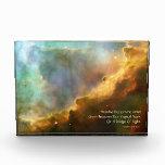 Omega Nebula Celestial Haiku Acrylic Sculpture Award