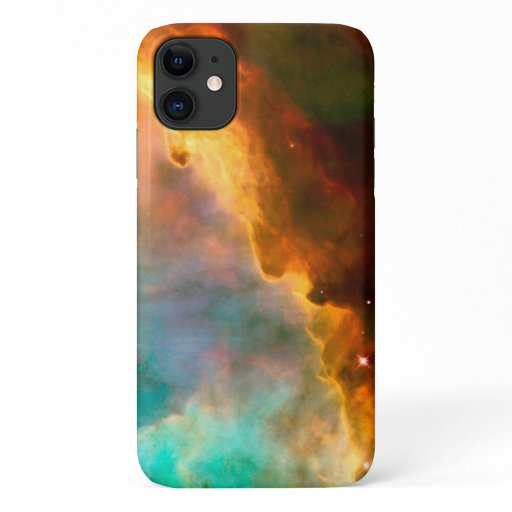 Omega Nebula in Sagittarius via Hubble iPhone 11 Case